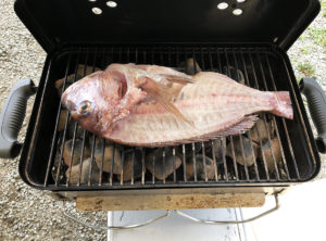 鯛の姿焼き