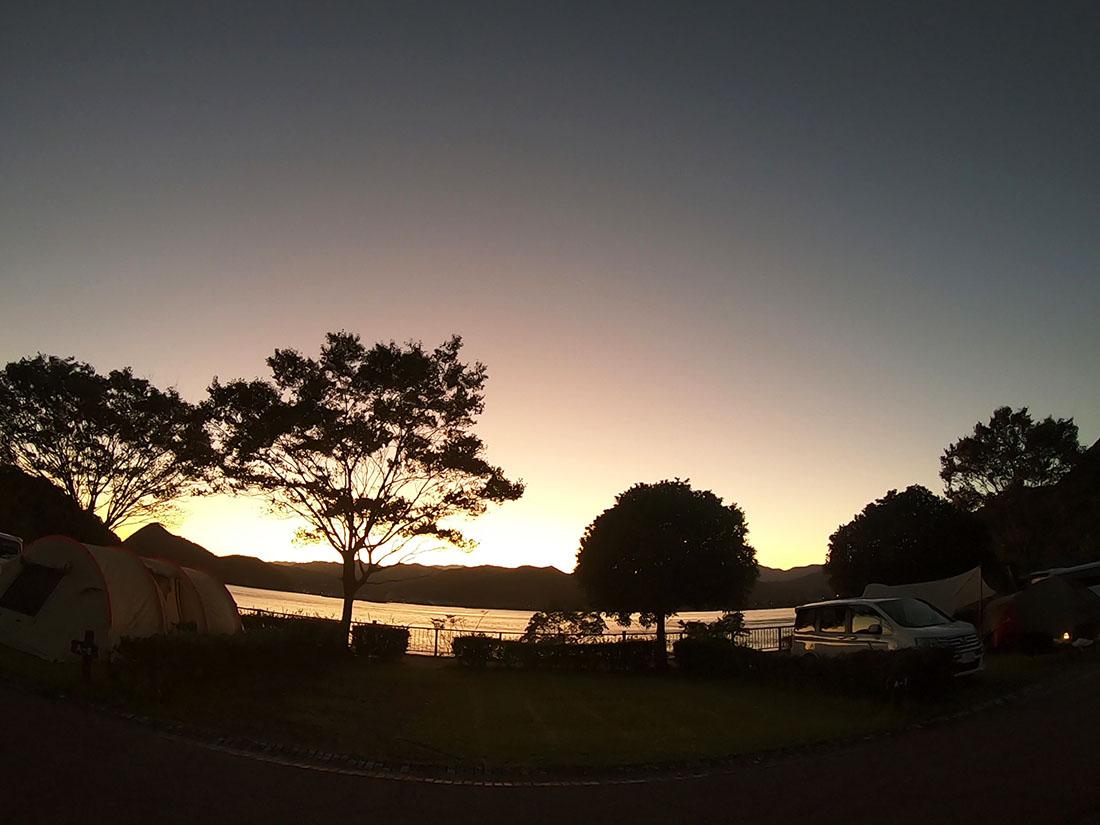 孫太郎オートキャンプ場にいってきました。